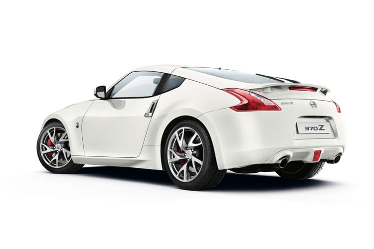 Nissan 370Z Coupe 3Dr 3.7 V6 328PS GT 3Dr Auto back view