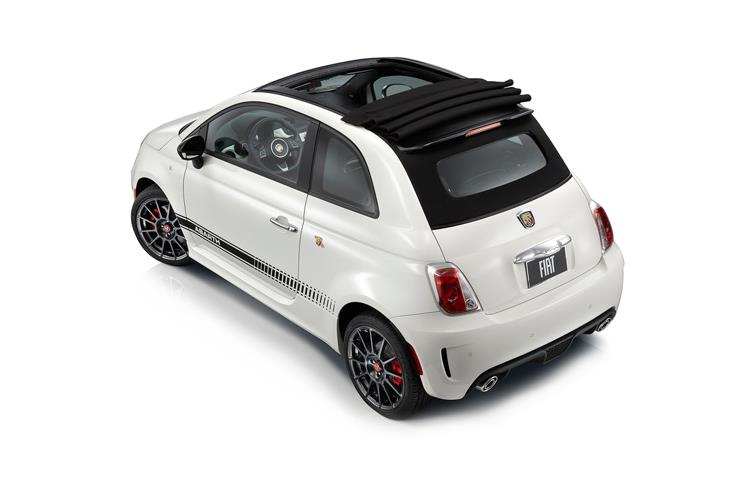 Abarth 595 C Cabrio 1.4 T-Jet 145PS  2Dr Manual back view