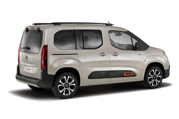 Citroen Berlingo M MPV 1.5 BlueHDi 100PS Feel 5Dr Manual [Start Stop] back view