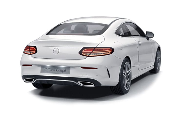 Mercedes-Benz C Class C220 Coupe 2.0 d 194PS AMG Line Edition 2Dr G-Tronic+ [Start Stop] back view