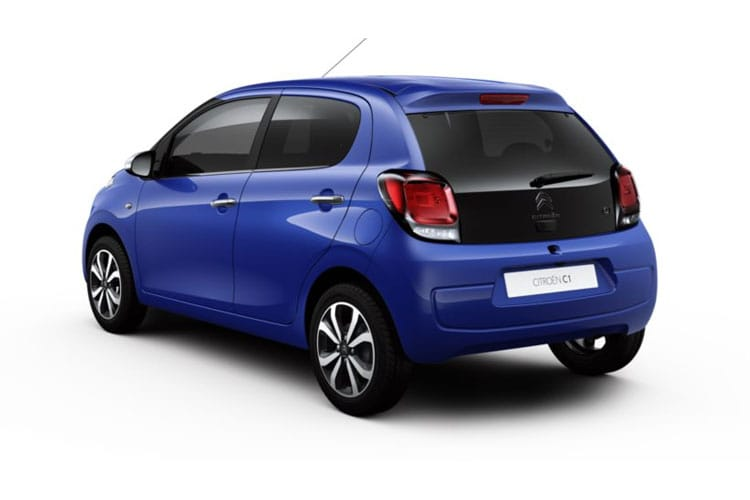 Citroen C1 Airscape 5Dr 1.0 VTi 72PS Urban Ride 5Dr Manual [Start Stop] back view