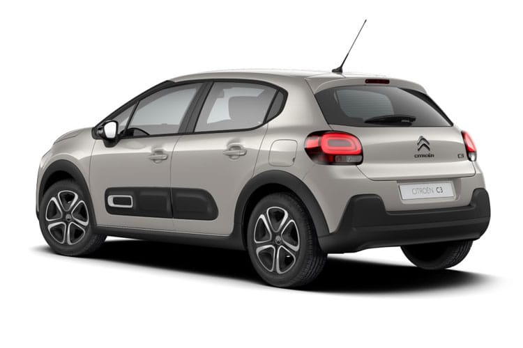 Citroen C3 Hatch 5Dr 1.2 PureTech 110PS Flair 5Dr EAT6 [Start Stop] back view