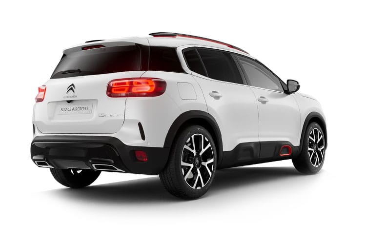 Citroen C5 Aircross SUV 1.2 PureTech 130PS C-SERIES 5Dr Manual [Start Stop] back view