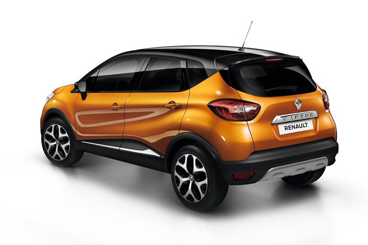 Renault Captur SUV 1.5 Blue dCi 115PS Iconic 5Dr EDC [Start Stop] back view