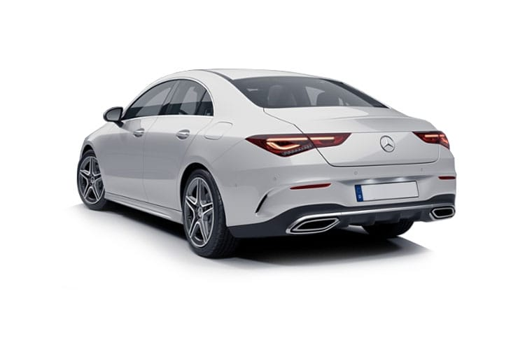 Mercedes-Benz CLA CLA200 Coupe 4Dr 1.3  163PS AMG Line Premium 4Dr 7G-DCT [Start Stop] back view