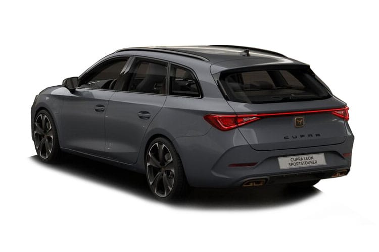 SEAT CUPRA Leon Estate 1.4 eHybrid PHEV 12.8kWh 245PS First Edition 5Dr DSG [Start Stop] back view