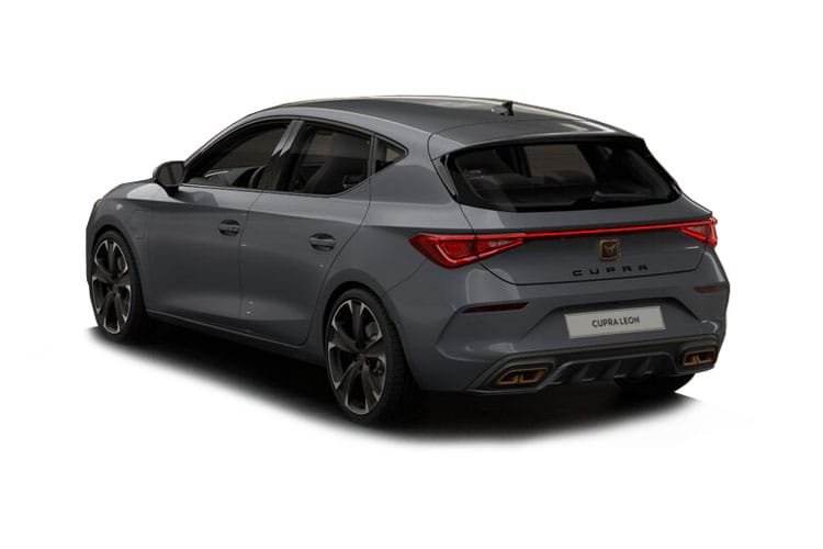 SEAT CUPRA Leon Hatch 5Dr 1.4 eHybrid PHEV 12.8kWh 245PS VZ2 5Dr DSG [Start Stop] back view