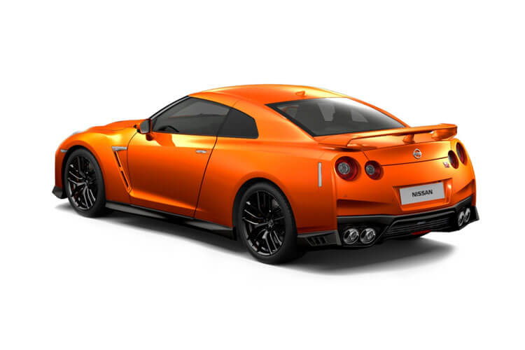Nissan GT-R Coupe 3.8 V6 570PS Track Edition 2Dr Auto [Engineered by NISMO] back view
