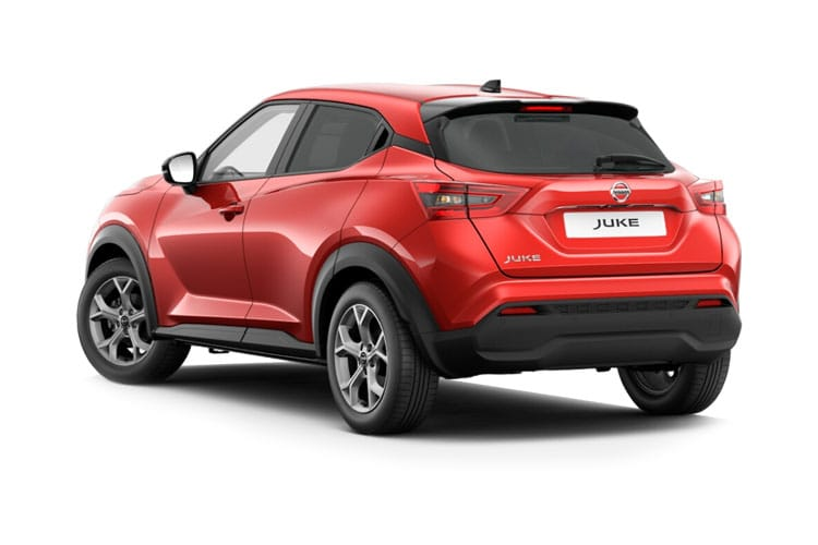 Nissan Juke SUV 1.0 DIG-T 117PS Tekna 5Dr Manual [Start Stop] back view
