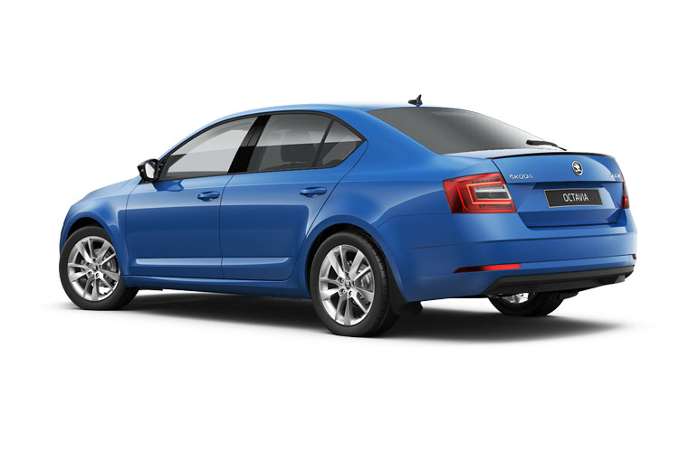 Skoda Octavia Hatch 5Dr 4x4 2.0 TDi 200PS vRS 5Dr DSG [Start Stop] back view