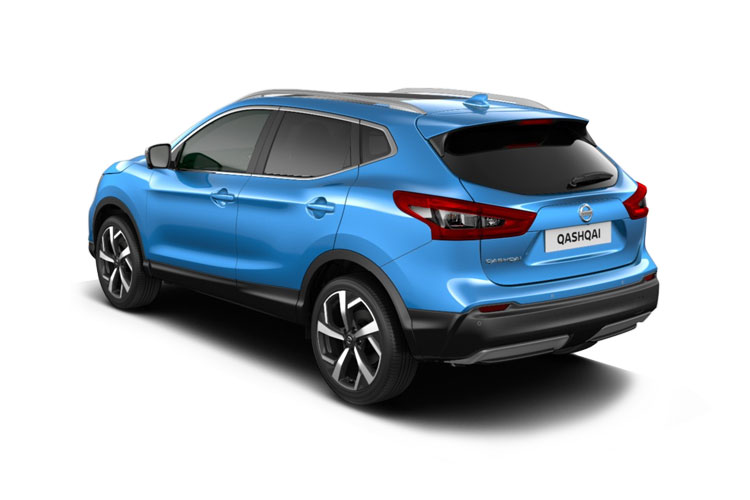 Nissan Qashqai SUV 2wd 1.3 DIG-T 160PS N-Connecta 5Dr Manual [Start Stop] [Pan Roof Drive Assist] back view