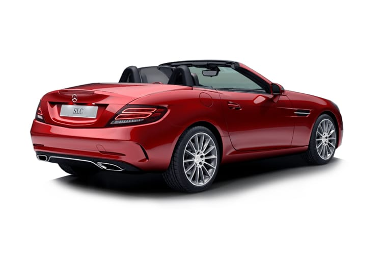 Mercedes-Benz SLC AMG SLC43 Coupe Convertible 3.0 V6 390PS Final Edition 2Dr G-Tronic [Start Stop] back view