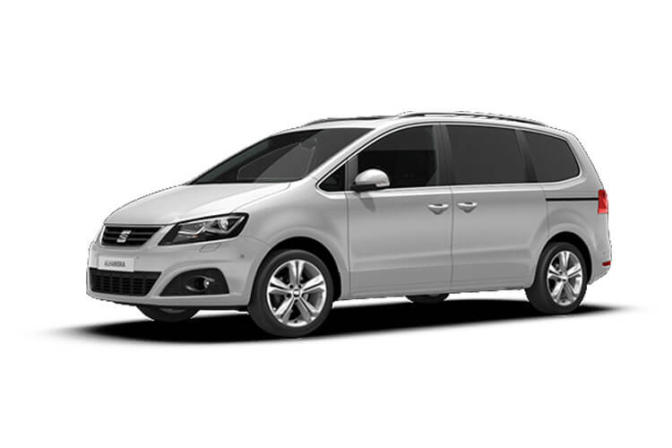SEAT Alhambra MPV 5Dr 2.0 TDI Ecomotive 150PS SE 5Dr Manual [Start Stop] front view
