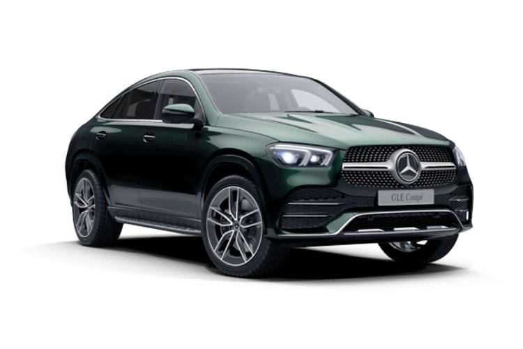 Mercedes-Benz GLE AMG GLE63 Coupe 4MATIC+ 4.0 V8 MHEV BiTurbo 612PS S 5Dr SpdS TCT [Start Stop] front view