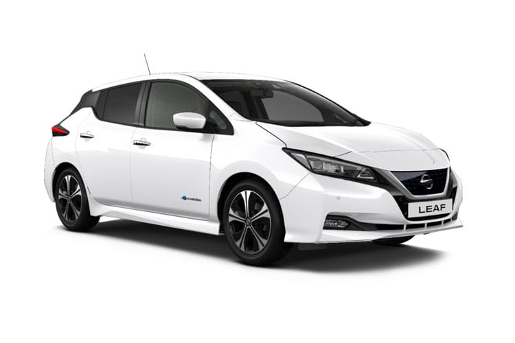 Nissan Leaf Hatch 5Dr Elec 62kWh 160KW 217PS e+ N-Connecta 5Dr Auto front view