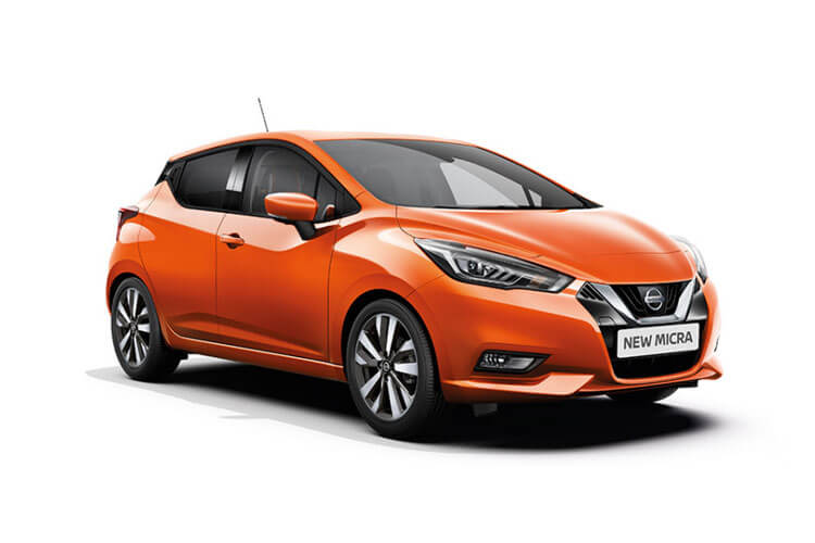 Nissan Micra Hatch 5Dr 1.0 IG-T 100PS Acenta 5Dr Manual [Start Stop] [Bose] front view