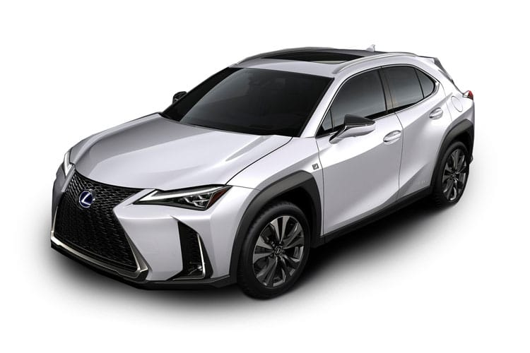 Lexus UX 250h SUV 2.0 h 184PS F-Sport 5Dr E-CVT [Start Stop] [Tech Safety SRoof] front view