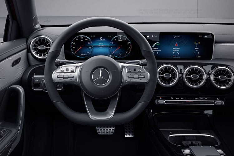 Mercedes-Benz A Class A200 Saloon 4Dr 1.3  163PS AMG Line 4Dr Manual [Start Stop] inside view