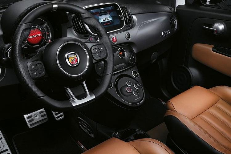 Abarth 595 Hatch 3Dr 1.4 T-Jet 145PS  3Dr Manual inside view