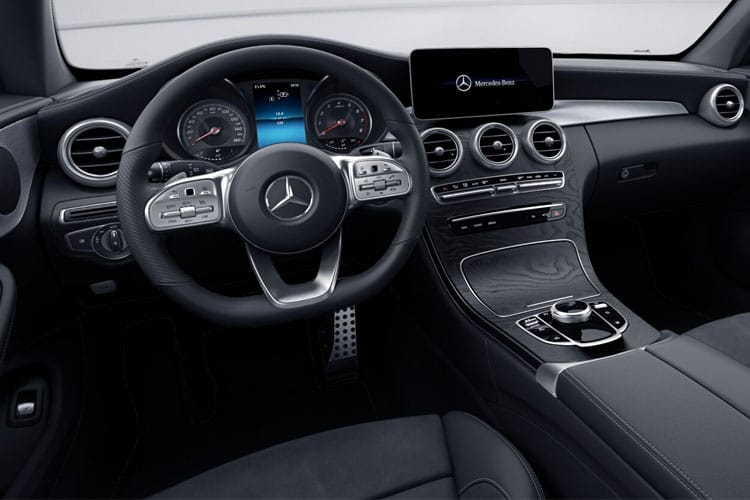 Mercedes-Benz C Class C220 Coupe 2.0 d 194PS AMG Line Edition 2Dr G-Tronic+ [Start Stop] inside view