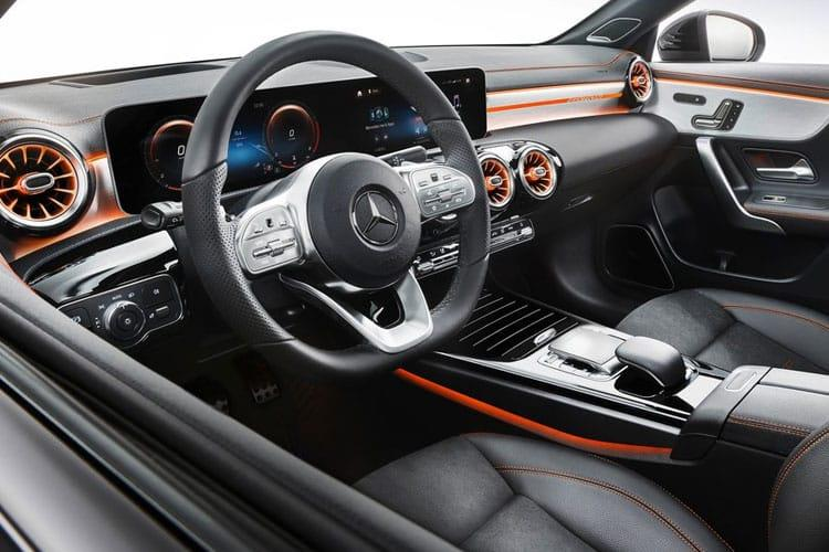 Mercedes-Benz CLA CLA200 Coupe 4Dr 1.3  163PS AMG Line Premium 4Dr 7G-DCT [Start Stop] inside view