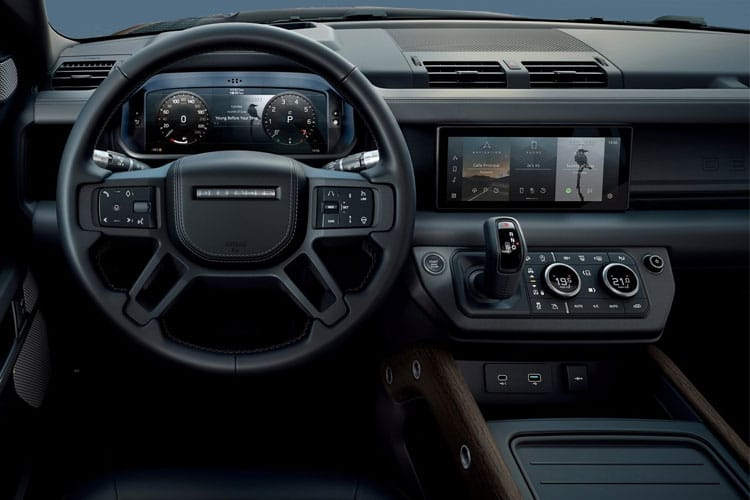 Land Rover Defender 110 SUV 5Dr 2.0 Si4 300PS S 5Dr Auto [Start Stop] [6Seat] inside view