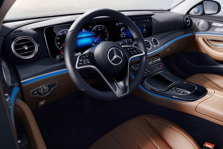 Mercedes-Benz E Class E300e Saloon 2.0 PiH 13.5kWh 320PS AMG Line Night Edition 4Dr G-Tronic+ [Start Stop] [Premium Plus] inside view