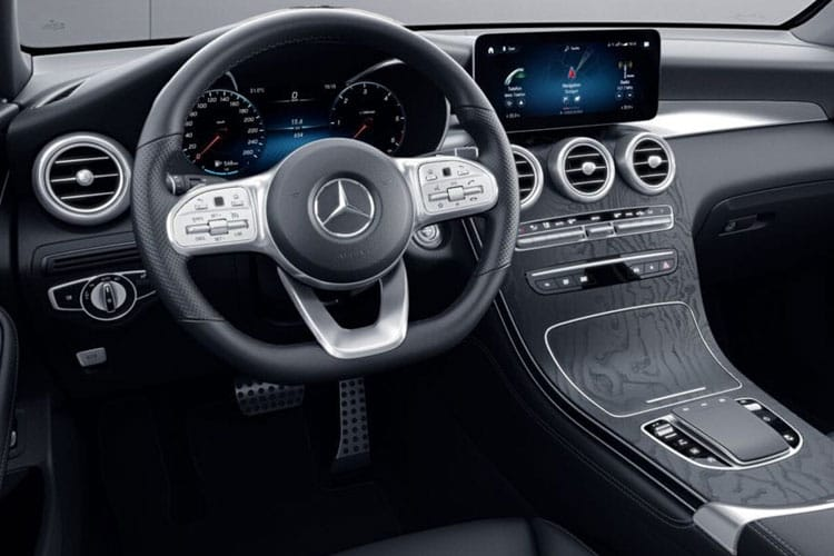 Mercedes-Benz GLC GLC300e SUV 4MATIC 2.0 d PiH 13.5kWh 306PS AMG Line Premium 5Dr G-Tronic+ [Start Stop] inside view