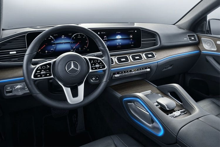 Mercedes-Benz GLE AMG GLE63 Coupe 4MATIC+ 4.0 V8 MHEV BiTurbo 612PS S 5Dr SpdS TCT [Start Stop] inside view