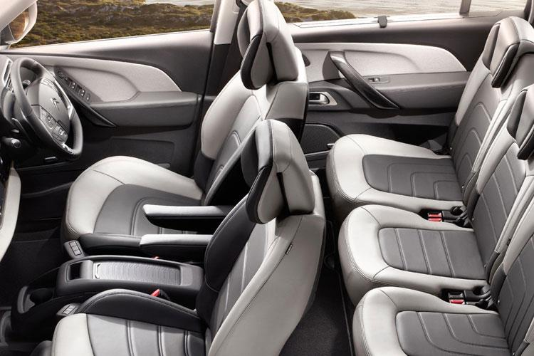 Citroen C4 SpaceTourer Grand C4 SpaceTourer MPV 2.0 BlueHDi 160PS Feel Plus 5Dr EAT8 [Start Stop] inside view
