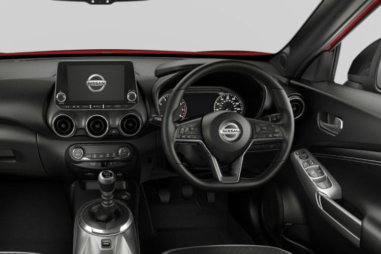 Nissan Juke SUV 1.0 DIG-T 117PS Tekna 5Dr Manual [Start Stop] inside view