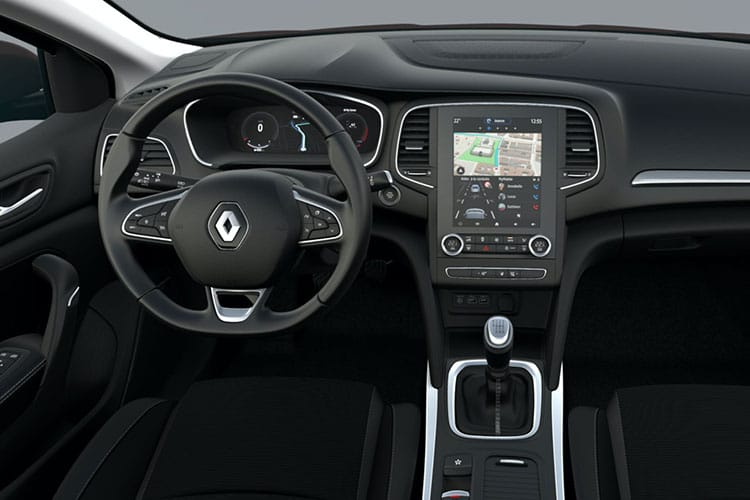 Renault Megane Hatch 5Dr 1.5 Blue dCi 115PS Iconic 5Dr Manual [Start Stop] inside view