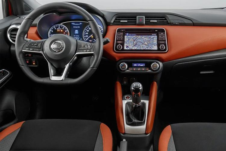 Nissan Micra Hatch 5Dr 1.0 IG-T 100PS Acenta 5Dr Manual [Start Stop] [Bose] inside view