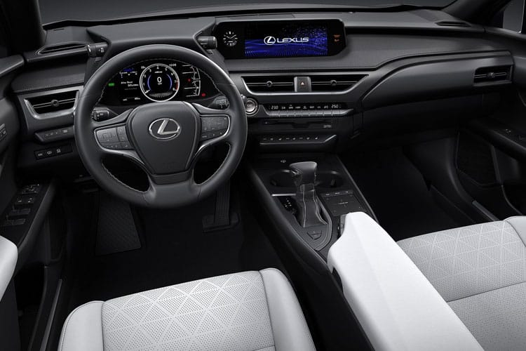 Lexus UX 250h SUV 2.0 h 184PS F-Sport 5Dr E-CVT [Start Stop] [Tech Safety SRoof] inside view