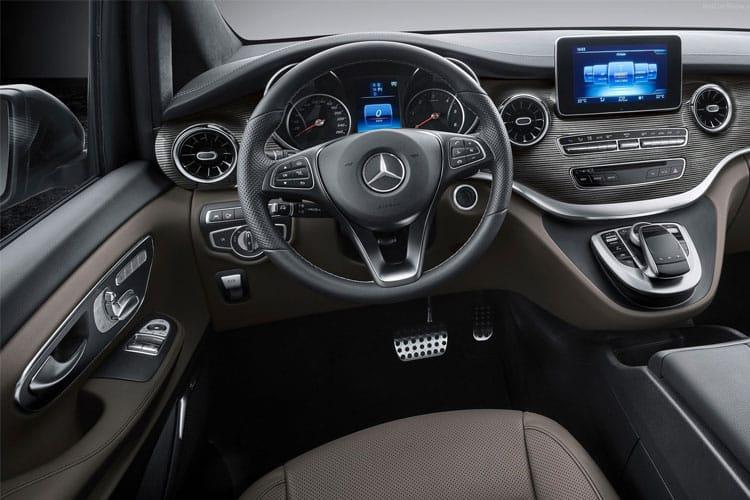 Mercedes-Benz V Class V220 5Dr 2.0 d 163PS Sport 5Dr G-Tronic+ [Start Stop] [7Seat] inside view